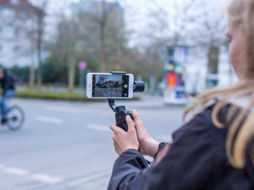 Videodreh mit dem Handy