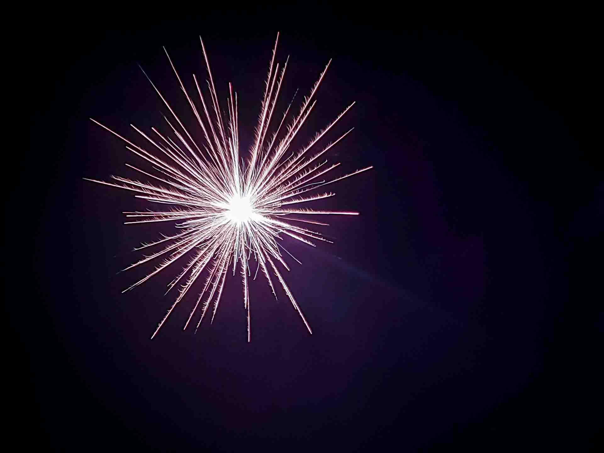 Feuerwerk fotografieren mit dem Smartphone