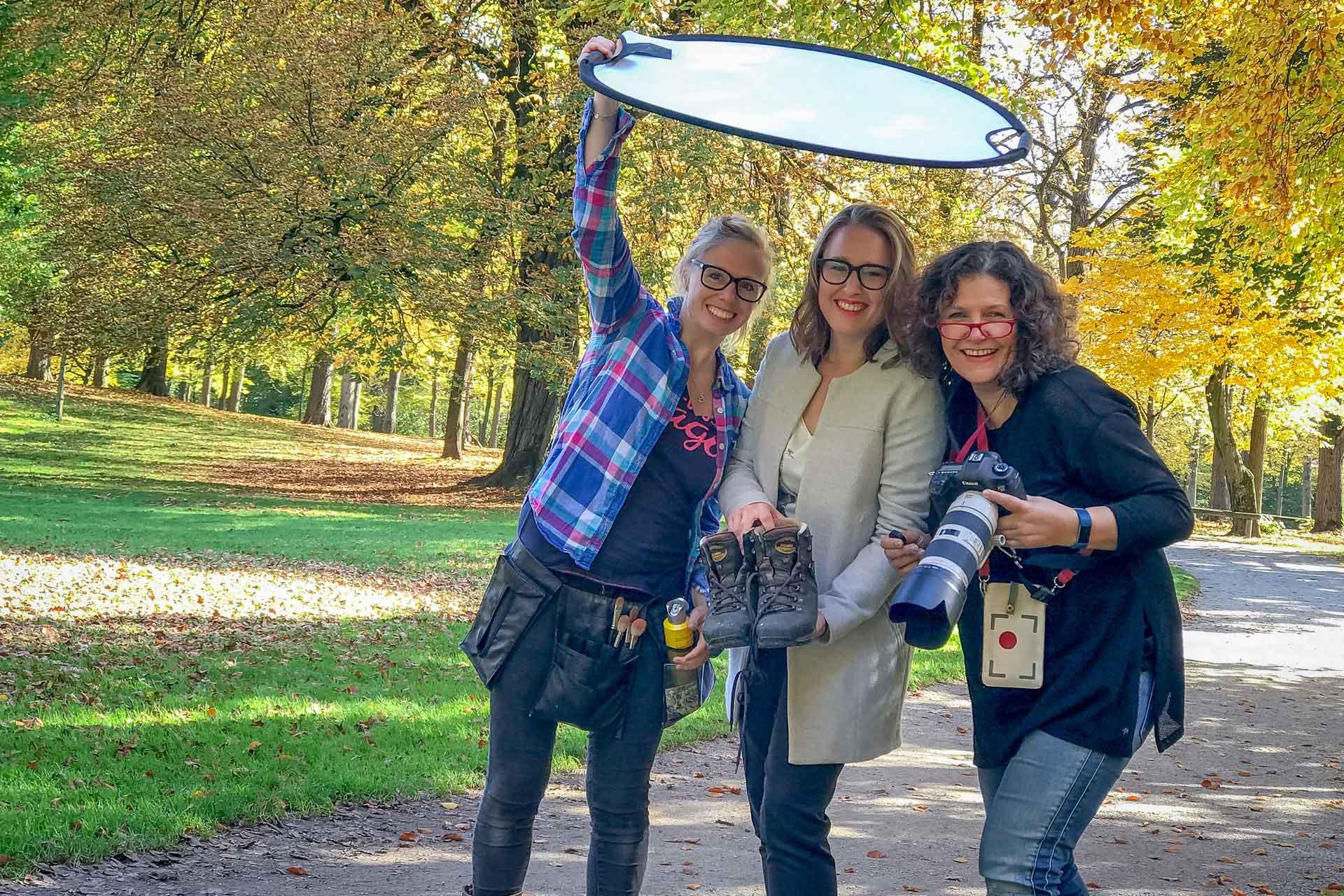 Girls'Day 2019 oder: Wie wird man eigentlich Profifotografin?