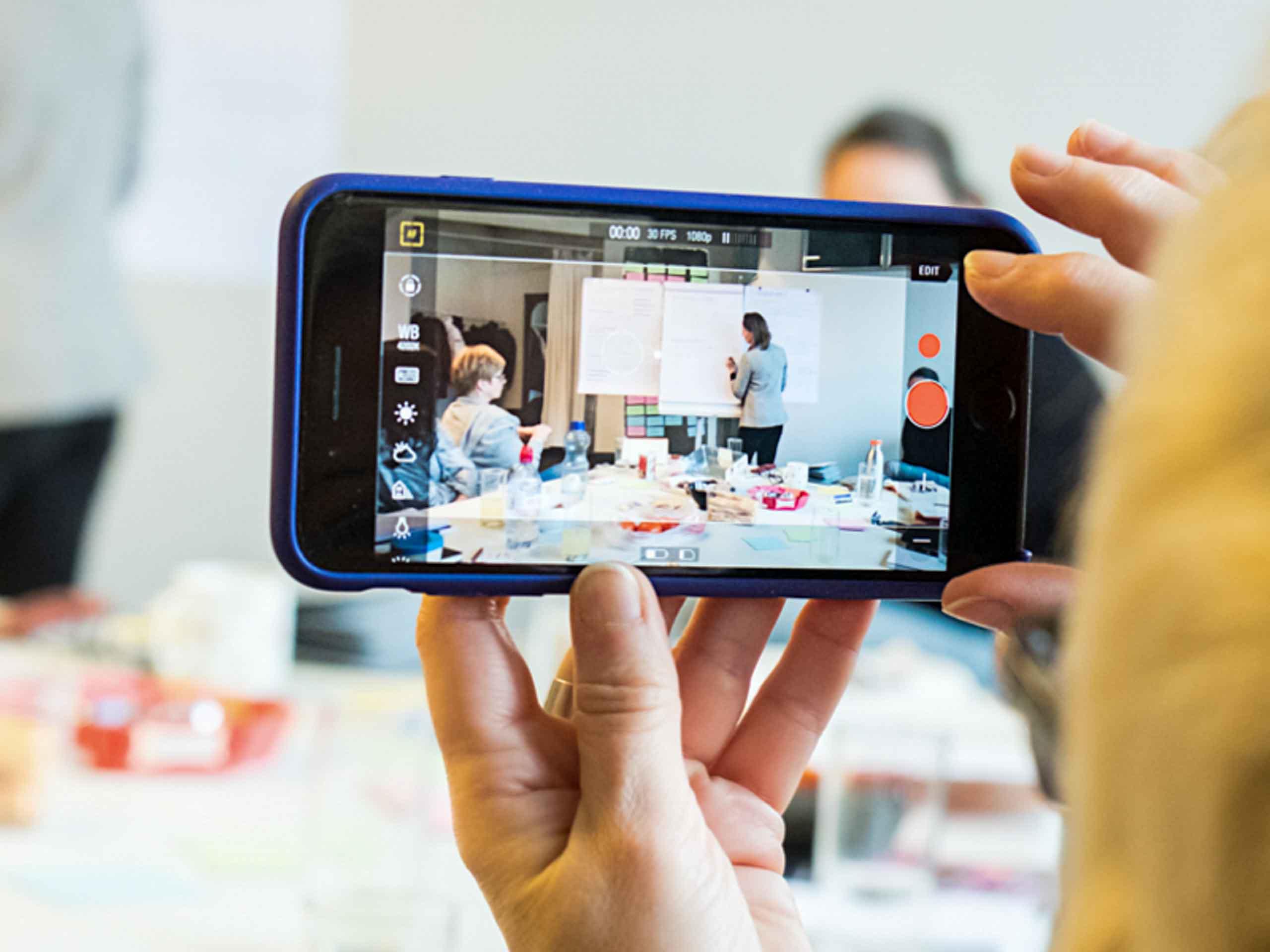 Perfekte Videoclips mit dem Smartphone drehen